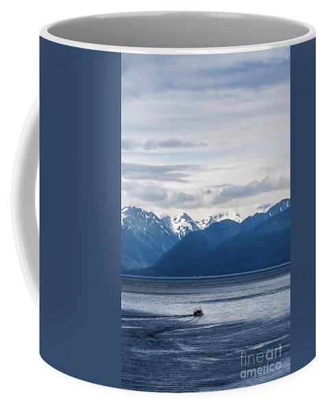 Alaska Coffee Mug featuring the photograph Icy Strait Fishing by John Greim