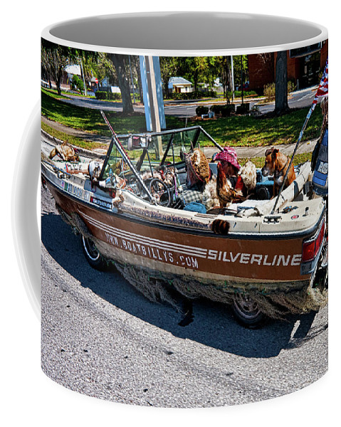 Boat Coffee Mug featuring the photograph Identity Crisis by Christopher Holmes