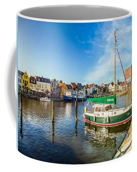 Amrum Coffee Mug featuring the photograph Idyllic North Sea Town Of Husum by JR Photography