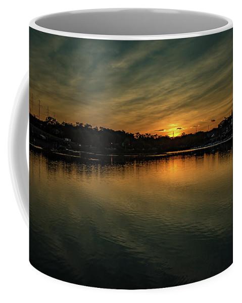Evening Coffee Mug featuring the photograph Idyllic Philadelphia Sunset by Howard Roberts