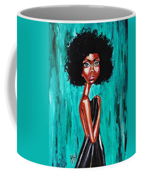 Afro Coffee Mug featuring the photograph If From Past Sins Ive Been Washed Clean-why Do I Feel So Dirty by Artist RiA