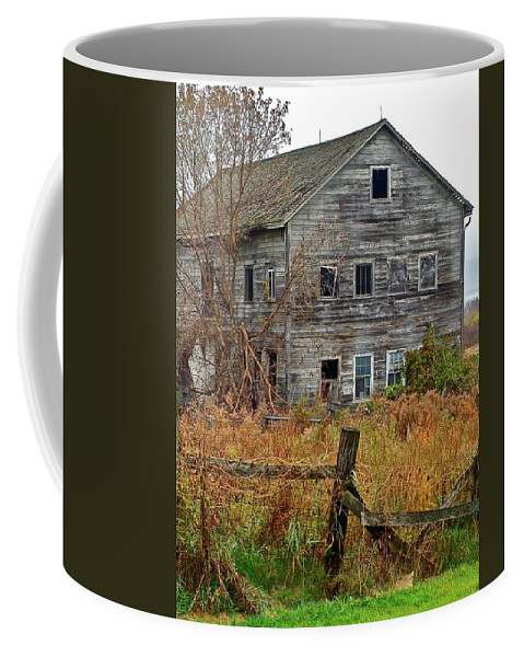 Country Coffee Mug featuring the photograph If It Could Talk by Diana Hatcher