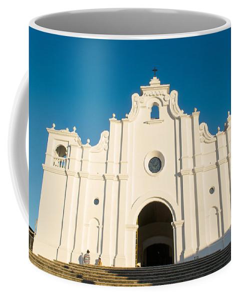 Iglesia San Andres Apostol Coffee Mug featuring the photograph Iglesia San Andres Apostol - Apaneca 5 by Totto Ponce