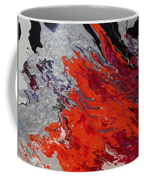 Fusionart Coffee Mug featuring the painting Ignition by Ralph White