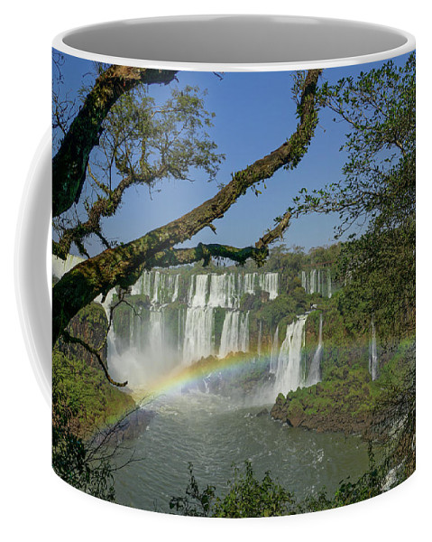 Iguacu Falls Coffee Mug featuring the photograph Iguazu Falls by Brian Kamprath