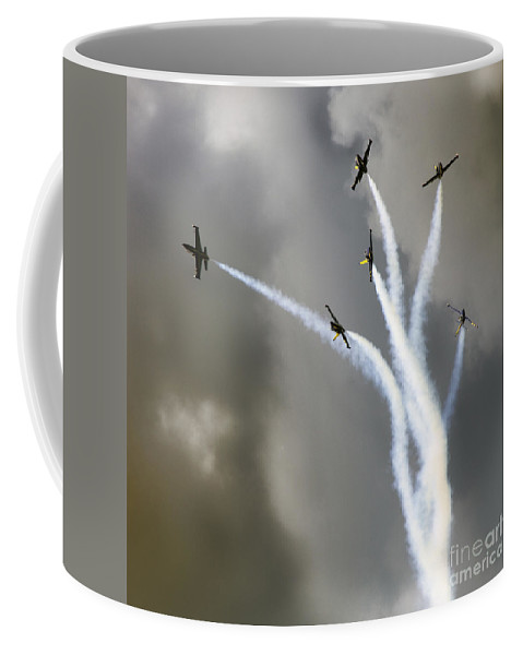 Breitling Jet Team Coffee Mug featuring the photograph Ikebana by Angel Tarantella
