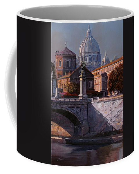 Rome Coffee Mug featuring the painting Il Cupolone by Guido Borelli