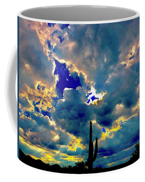 Coffee Mug featuring the photograph Illunination by Joy Elizabeth