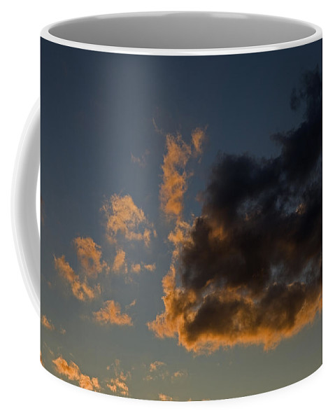 Nobody Coffee Mug featuring the photograph Image Of Clouds At Sunset by Tim Laman