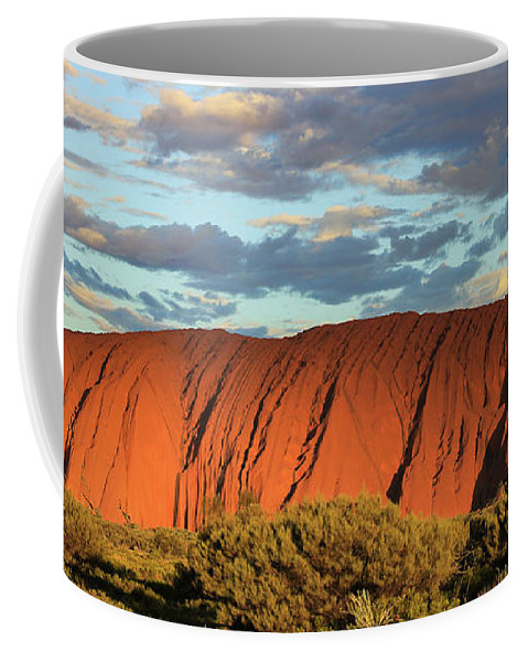 Uluru Coffee Mug featuring the photograph Image09 by Chaitali Dhua