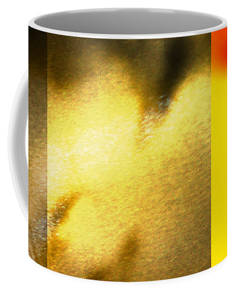 Yellow Coffee Mug featuring the digital art Imagination by Are Lund