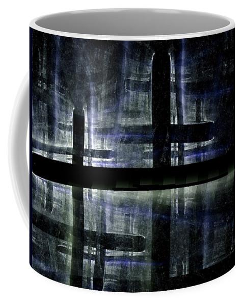 Fractal Coffee Mug featuring the digital art Imagine This by Amorina Ashton