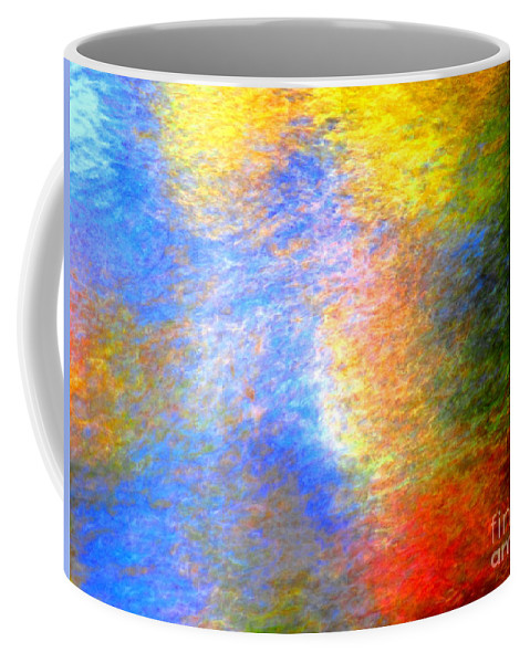 Abstract Coffee Mug featuring the photograph Imerging From Darkness To Lights by Sybil Staples