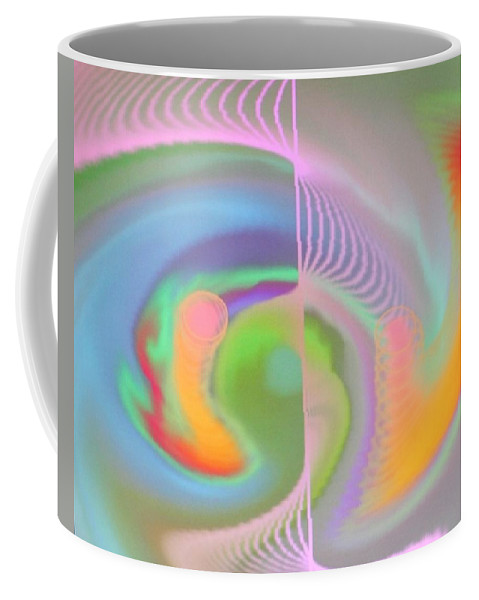 Digital Art Coffee Mug featuring the digital art Img0022 by Ralph Root
