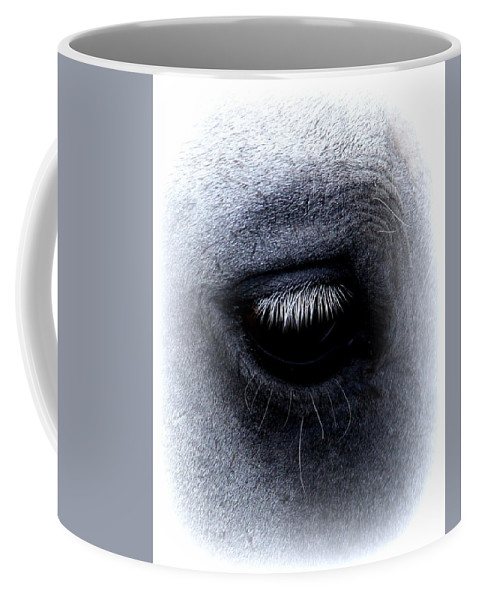 Horse Coffee Mug featuring the photograph Img_9999 - Horse by Travis Truelove