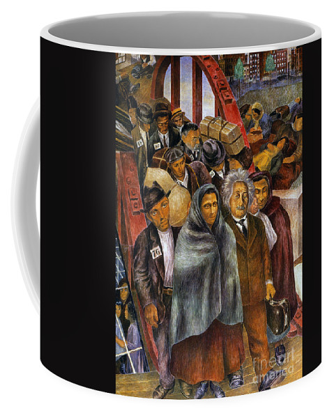 1937 Coffee Mug featuring the photograph Immigrants, Nyc, 1937-38 by Granger