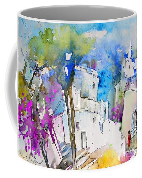 Trevelez Painting Coffee Mug featuring the painting Impression De Trevelez Sierra Nevada 03 by Miki De Goodaboom