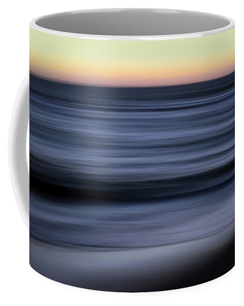 Abstract Landscape Coffee Mug featuring the photograph Impressionistic Water 6860a by Dick Hopkins