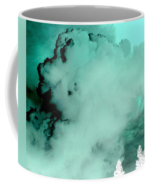 Impressions Coffee Mug featuring the digital art Impressions 10 by Will Borden