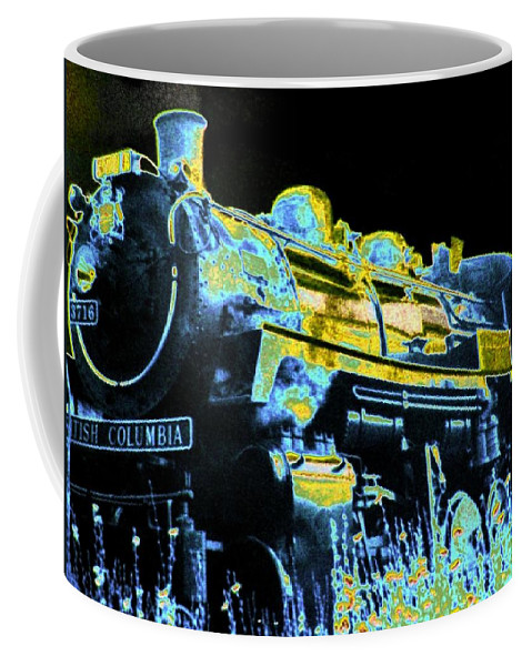 Impressions Coffee Mug featuring the digital art Impressions 11 by Will Borden