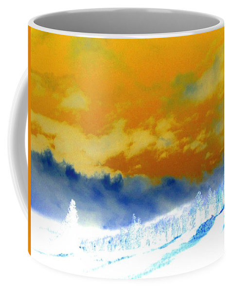 Impressions Coffee Mug featuring the digital art Impressions 2 by Will Borden
