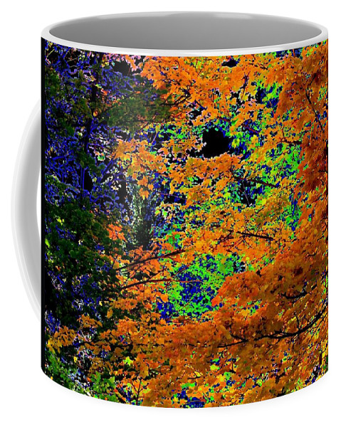 Impressions Coffee Mug featuring the digital art Impressions 3 by Will Borden