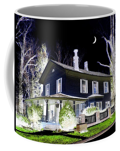 Impressions Coffee Mug featuring the digital art Impressions 5 by Will Borden