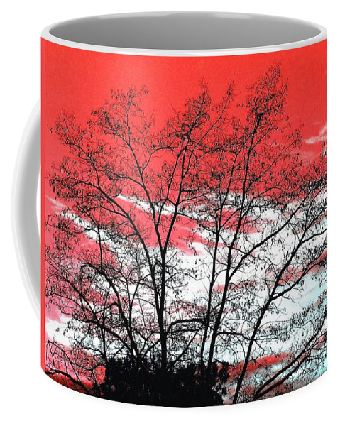 Impressions Coffee Mug featuring the digital art Impressions 6 by Will Borden