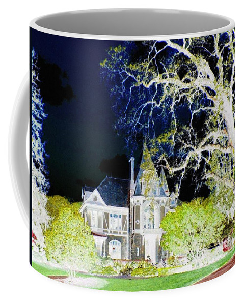 Impressions Coffee Mug featuring the digital art Impressions 9 by Will Borden