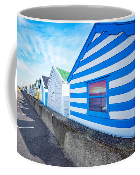 Activity Coffee Mug featuring the photograph In A Row by Svetlana Sewell