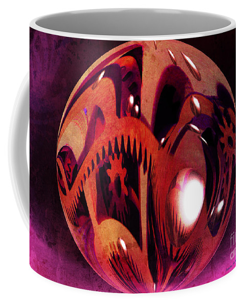 Gorgeous Coffee Mug featuring the photograph In All Directions by Sandra Gallegos