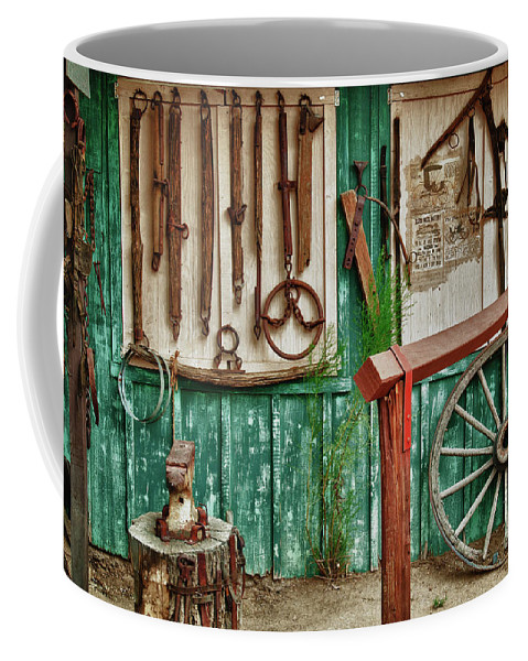 Hdr Coffee Mug featuring the photograph In Another Time by Sandra Bronstein