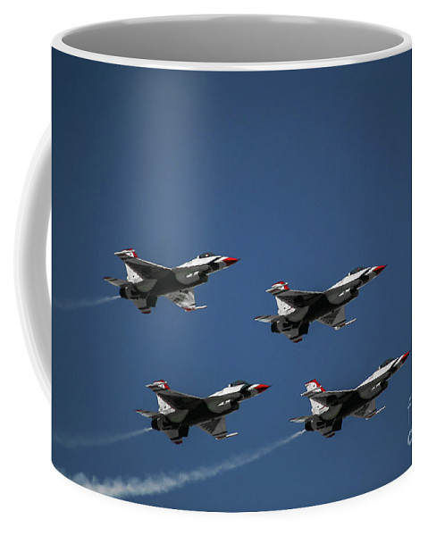 Aerial Coffee Mug featuring the photograph In Flight by Chandra Nyleen