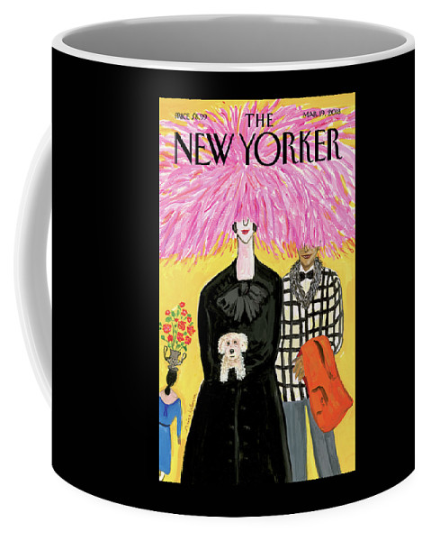 In Full Bloom Coffee Mug featuring the painting In Full Bloom by Maira Kalman