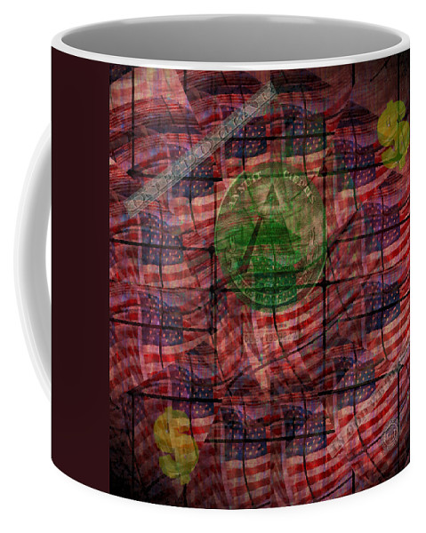 Money Coffee Mug featuring the photograph In God We Trust All Others Pay Cash by Bill Cannon
