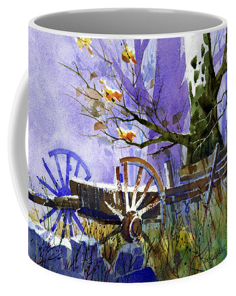 Antiques Coffee Mug featuring the painting In Harmony by Lee Klingenberg