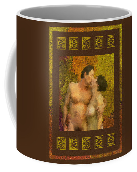 Nudes Coffee Mug featuring the photograph In Love by Kurt Van Wagner
