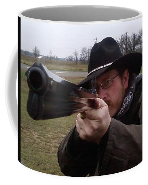 Rifle Coffee Mug featuring the photograph In My Sights by Cindy New