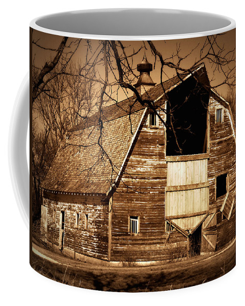 Barn Coffee Mug featuring the photograph In Need by Julie Hamilton