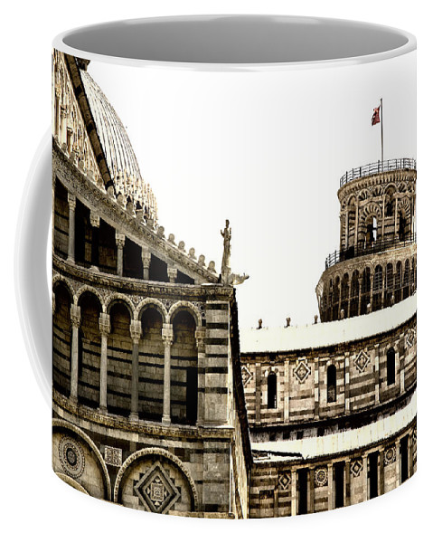 Pisa Coffee Mug featuring the photograph In Pisa by Mick Burkey