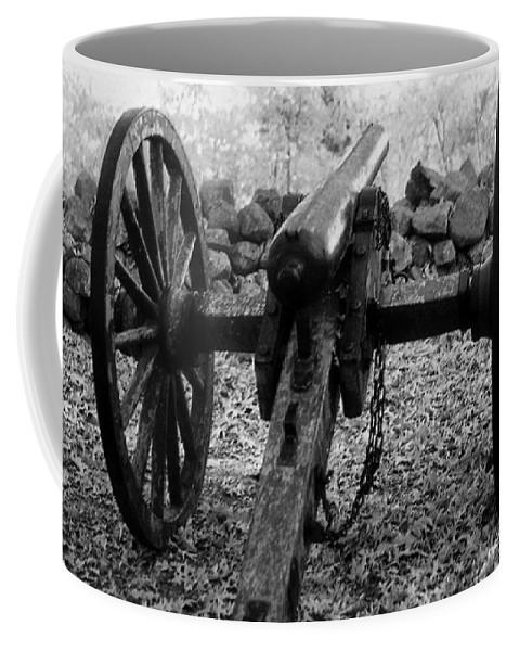 Civil War Coffee Mug featuring the photograph In Plain Sight by Richard Rizzo