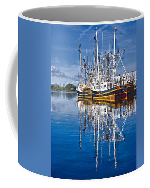 Port Coffee Mug featuring the photograph In Port by Ches Black