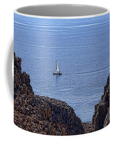 Canyon Coffee Mug featuring the photograph In Search Of Atlantis-3 by Casper Cammeraat