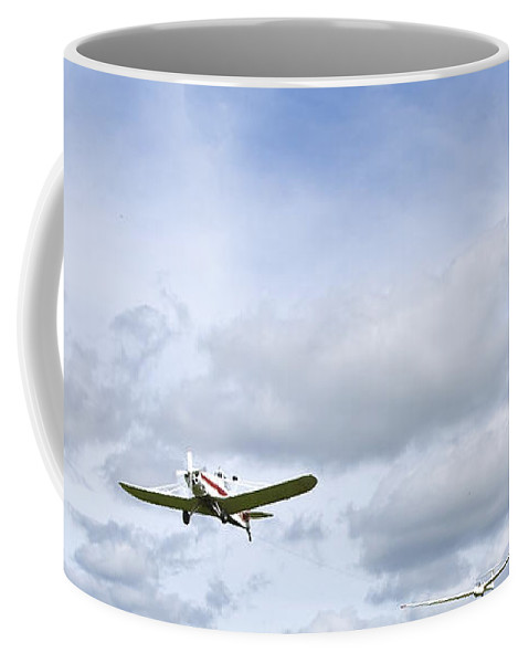 Sky Coffee Mug featuring the photograph In The Air by Svetlana Sewell