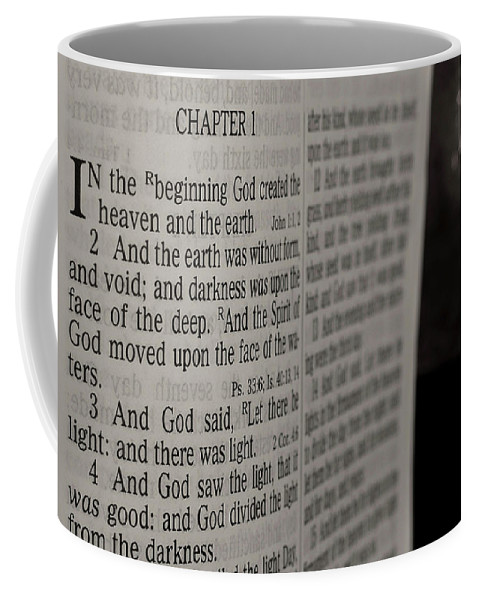 Beginning Coffee Mug featuring the photograph In The Beginning by Jim Cole