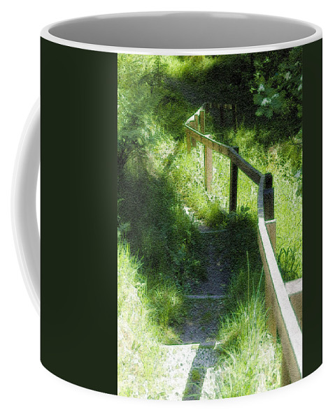 Branch Coffee Mug featuring the photograph In The Forest by Svetlana Sewell