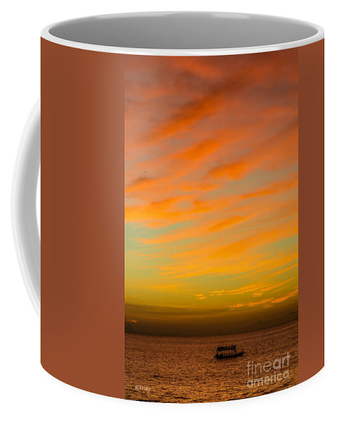 Sailing Coffee Mug featuring the photograph In The Heat Of The Night by Rene Triay Photography