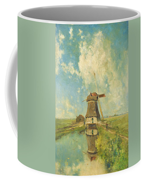 Old Masters Coffee Mug featuring the painting In The Month Of July by Joseph Constantin Gabrie