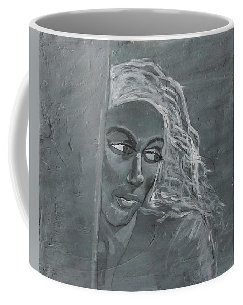Women Coffee Mug featuring the painting In The Moon Light by J Bauer