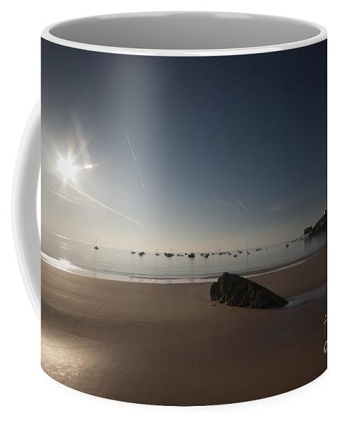 Sunrise Coffee Mug featuring the photograph In The Morning Sun by Angel Ciesniarska